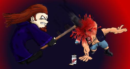 :smash:- Chibi-Taker's revenge, by me